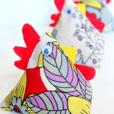 Creative Chicken Fabric Weights Sewing Crafts For Beginners
