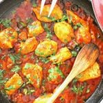 Skillet Chicken With Olives In Tomato Sauce