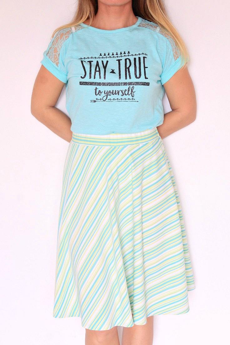 Easy Half Circle Skirt