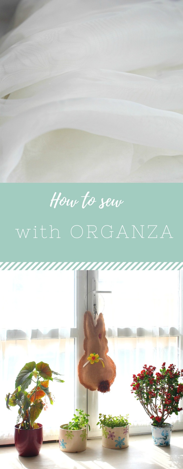 Tips For Sewing With Organza