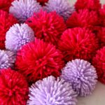 Insanely Easy Way to Make Pom Poms in Bulk