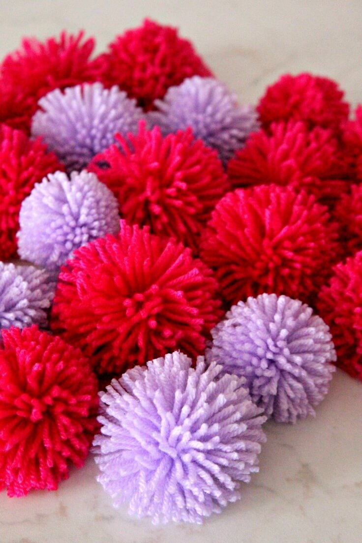 How To Make Pom Poms In Bulk With The Easiest Amp Fastest Method