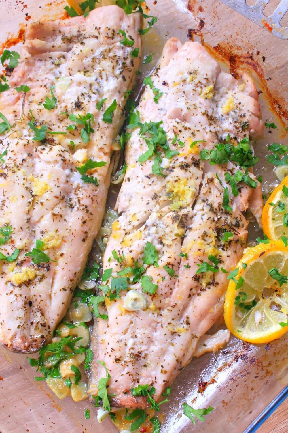 lemon butter baked fish