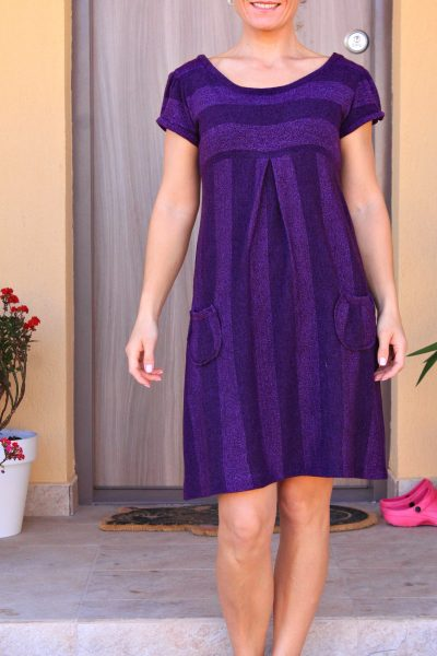 Easy Knit Dress With Pockets