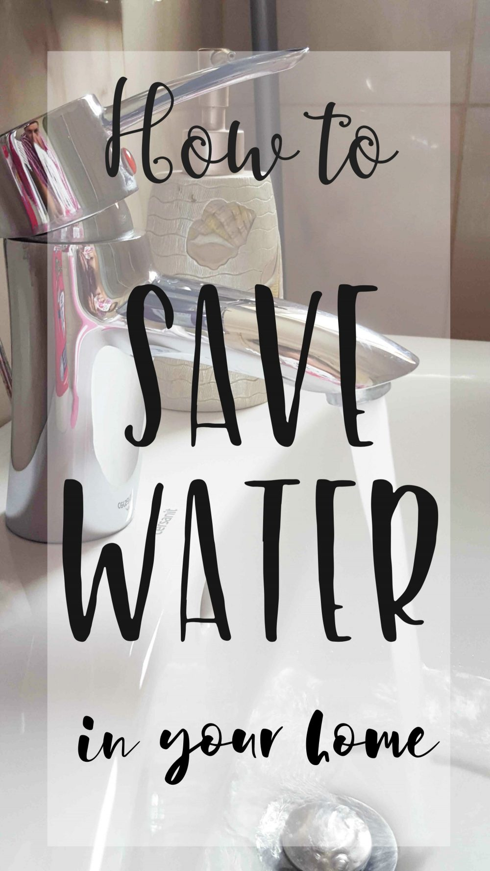 Ways to save water in your home for How to save water in your house