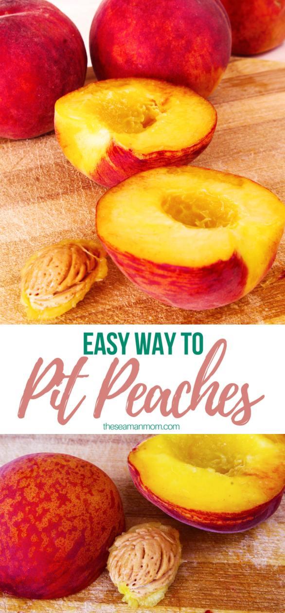 Pit peaches