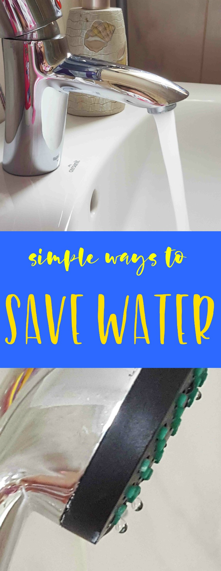 Ways To Save Water In Your Home