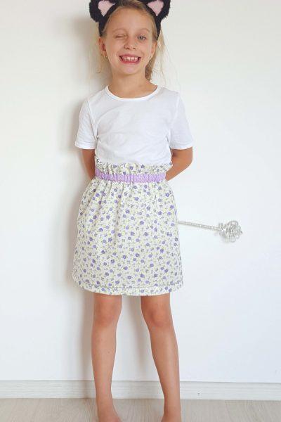 Paper Bag Skirt Sewing Tutorial