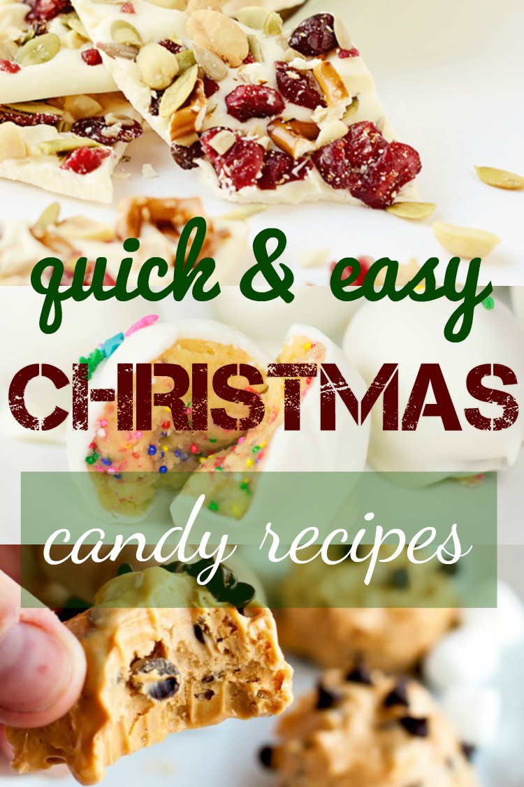 Bring cheer this holiday season with these amazing quick and easy Christmas candy recipes! Many would only take minutes to make and the result is SO delicious!