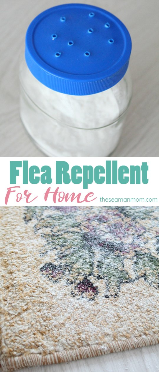 Flea repellent for home