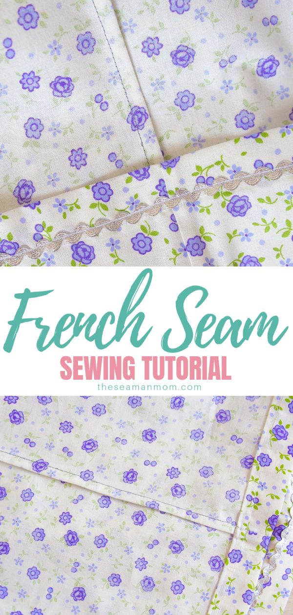 Learn how to make french seam and create a professional, clean finish to your sewing projects! Sewing french seams make simple, easy to make, neat and elegant finishes to your garments! via @petroneagu