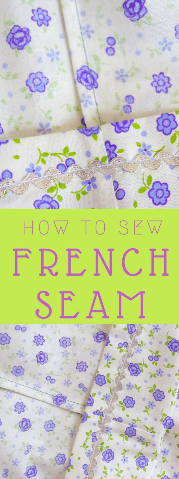How to make French seam