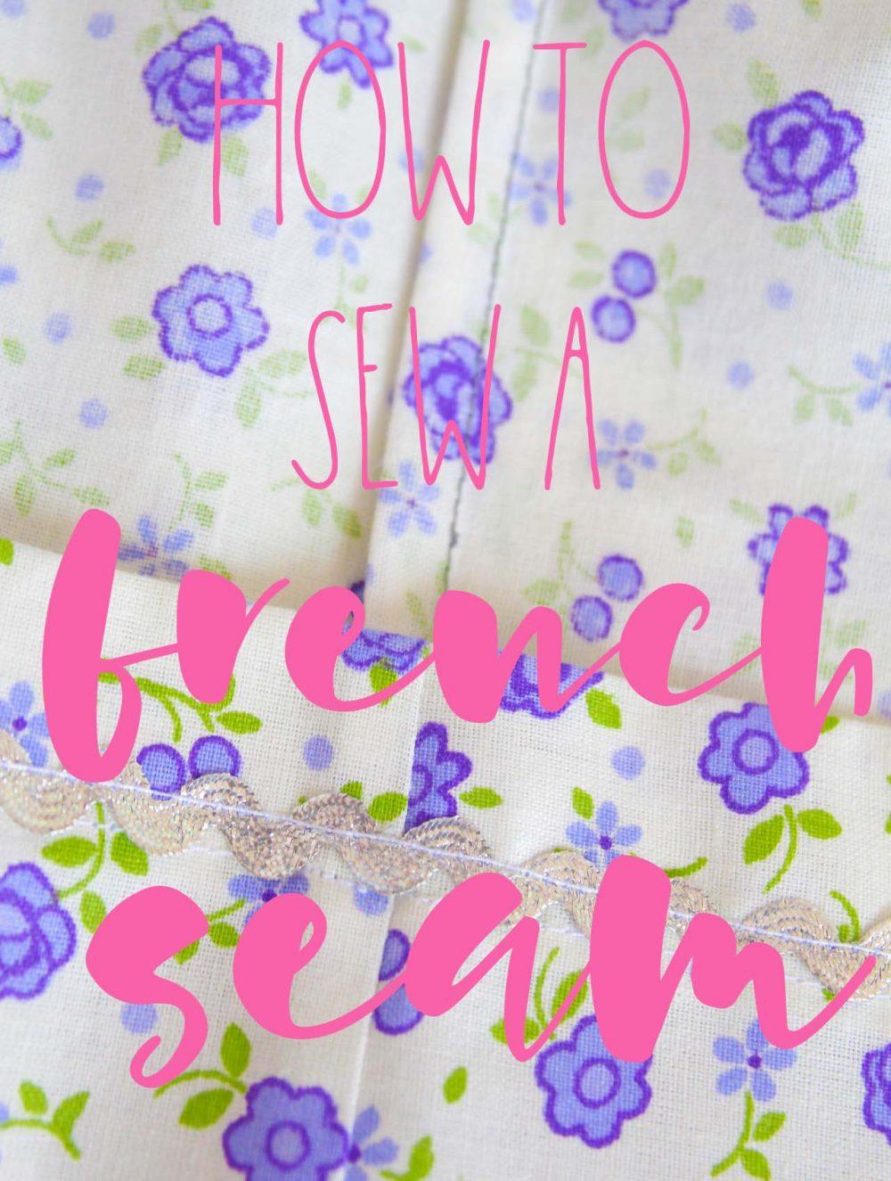 French stitch
