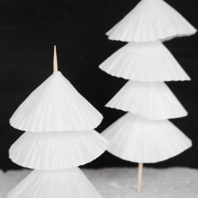 Make Super Simple & Cute Paper Christmas Tree Decorations