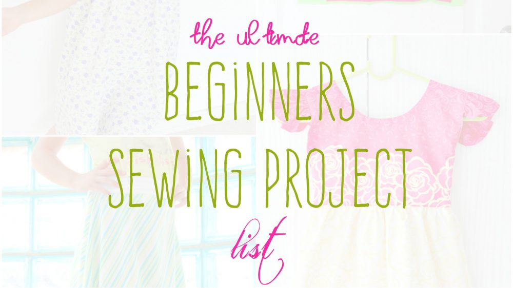 Sewing ideas for beginners