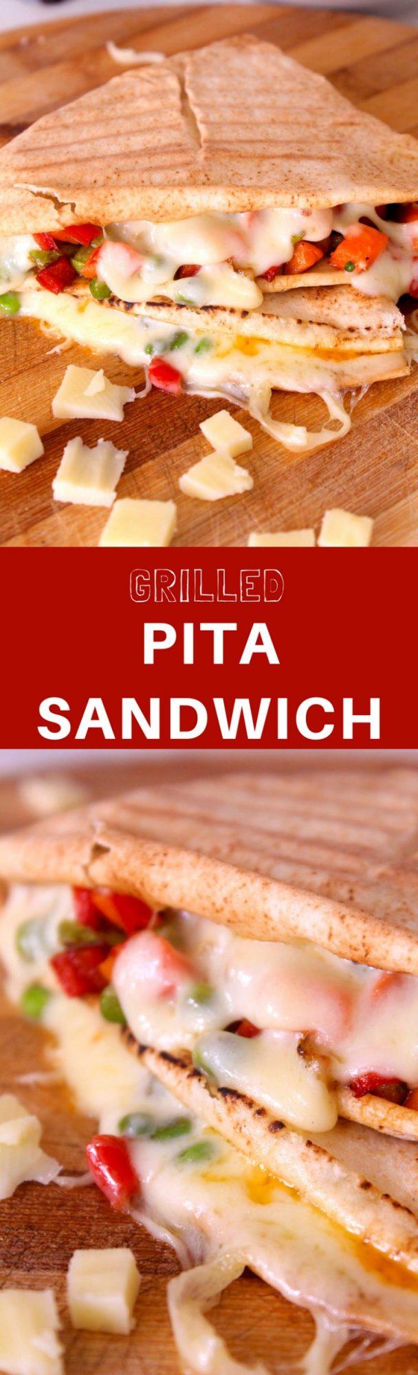 Pita sandwich recipe
