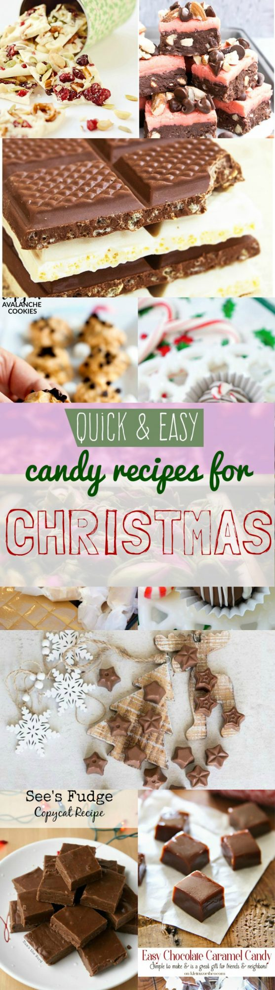 Quick And Easy Christmas Candy Recipes