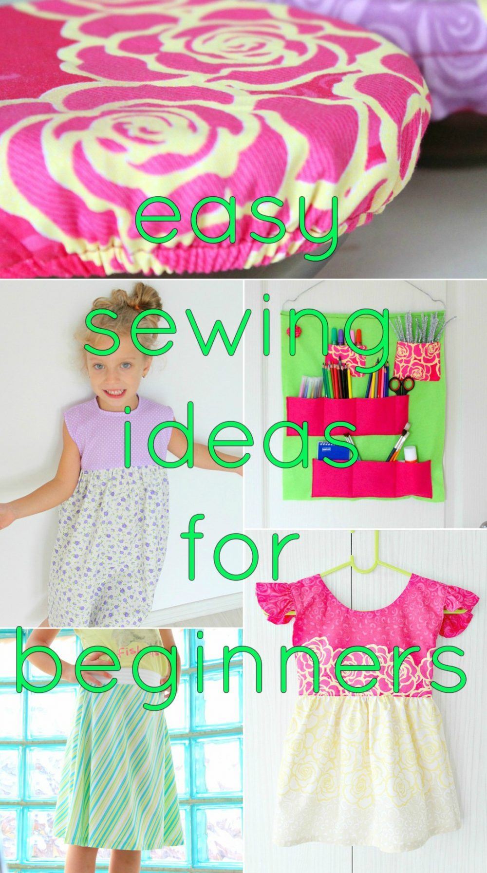 The ultimate collection of beginner sewing projects to try right now!