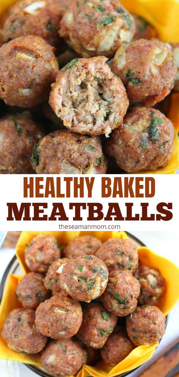 Baked meatballs recipe