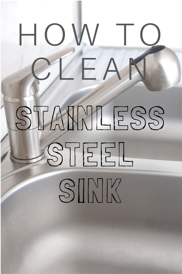 best way to clean stainless steel sink without heavy chemicals. Black Bedroom Furniture Sets. Home Design Ideas