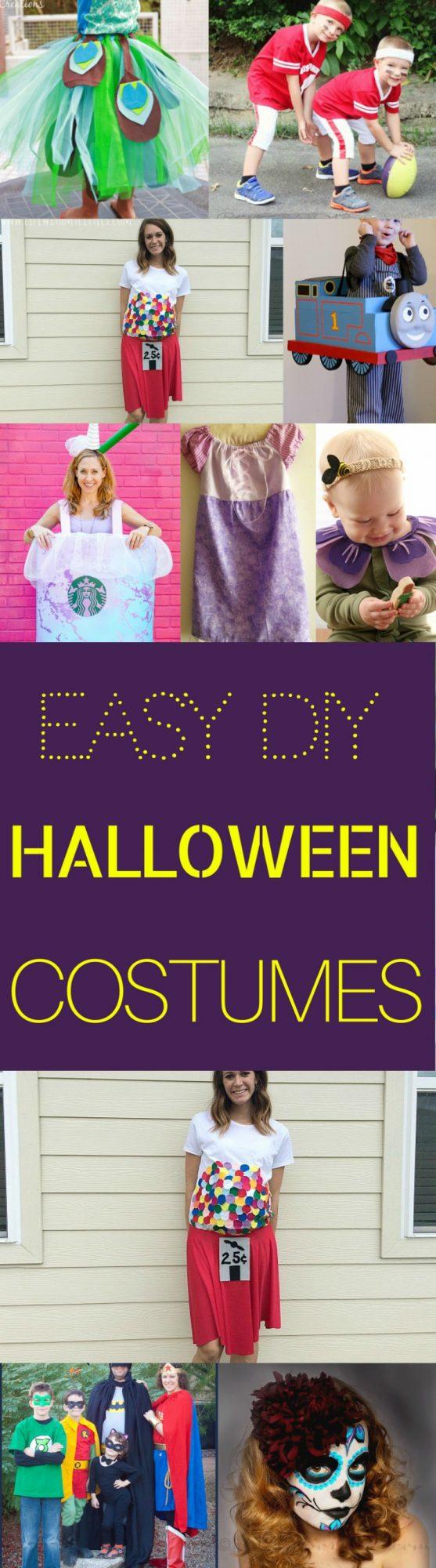 DIY Easy Halloween Costumes