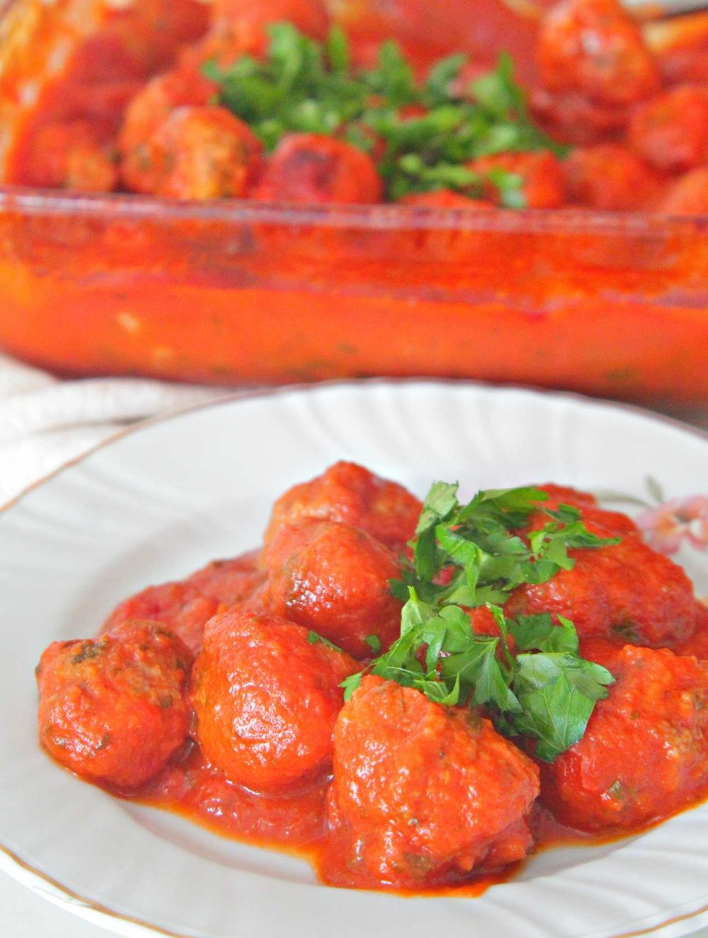 Tomato meatballs
