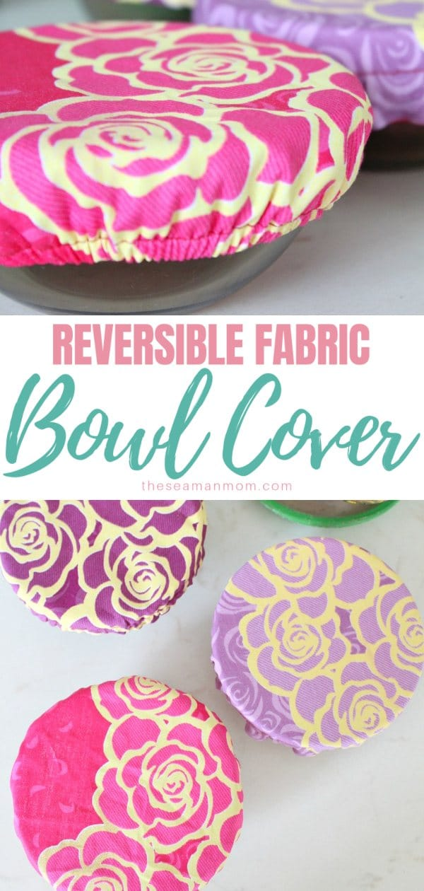 Reversible bowl covers
