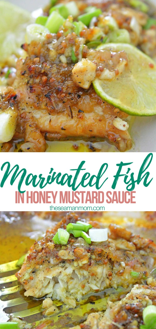 Honey mustard fish
