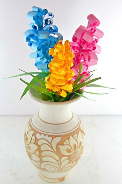 Gorgeous Swirly Paper Flowers Gift Idea