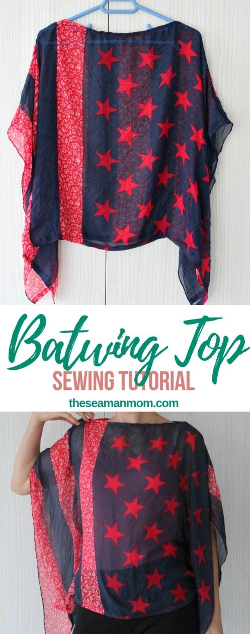 Batwing top