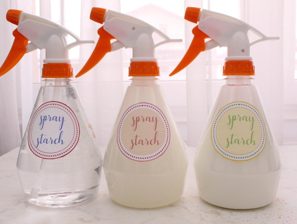 ironing spray