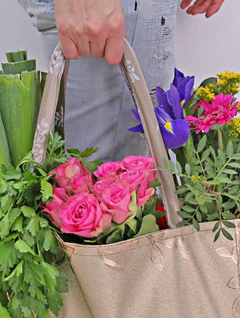 Grocery tote bag pattern