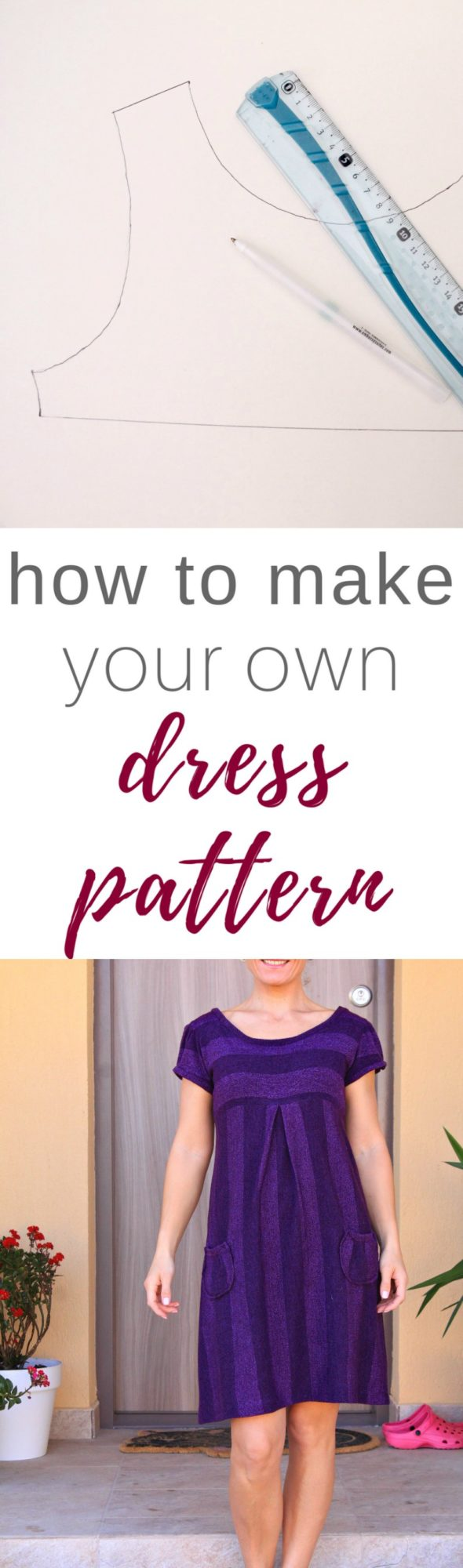 Dress pattern making