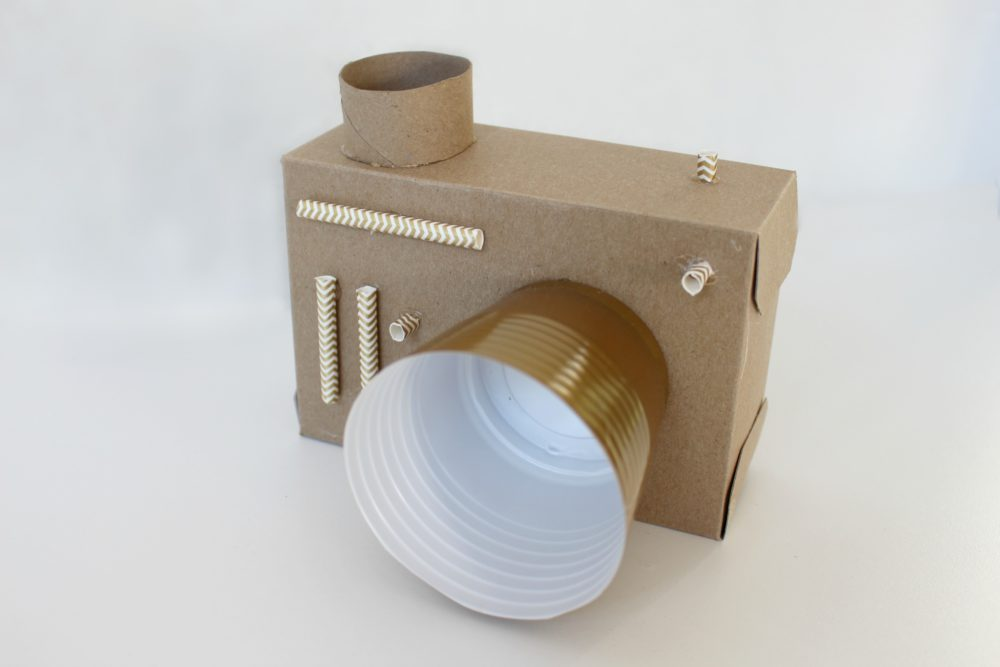 homemade cardboard camera