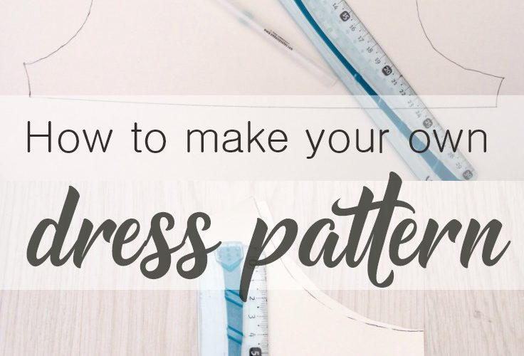 Dress Pattern Making Easy Tutorial For Beginners