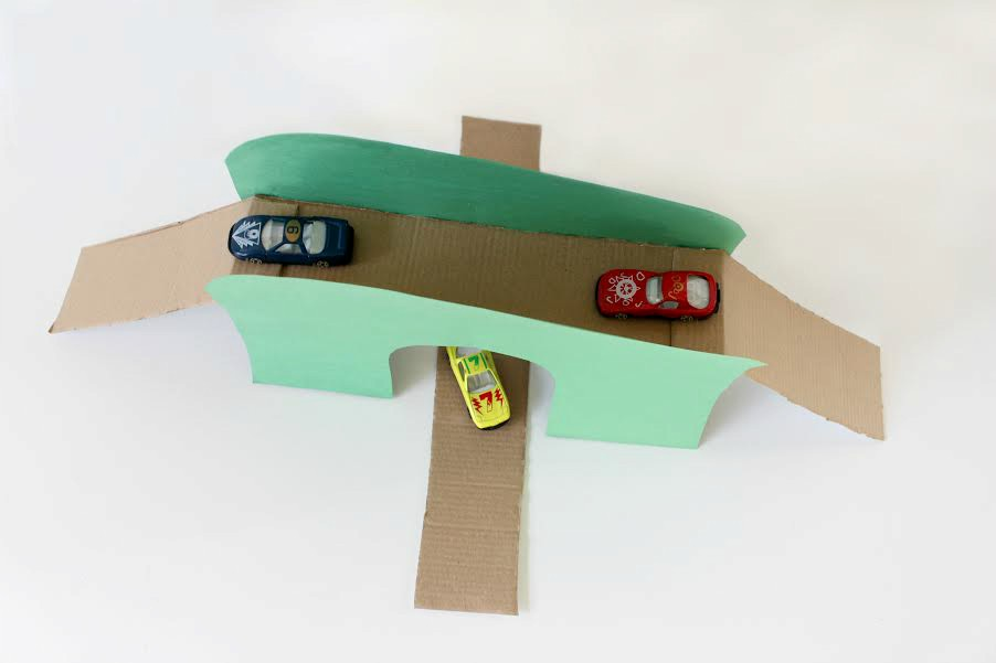 toy car bridge