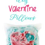 No idea what to give as a Valentine present to your loved ones? These Valentine's Day Pillows are easy to personalize and takes little to no time to make!