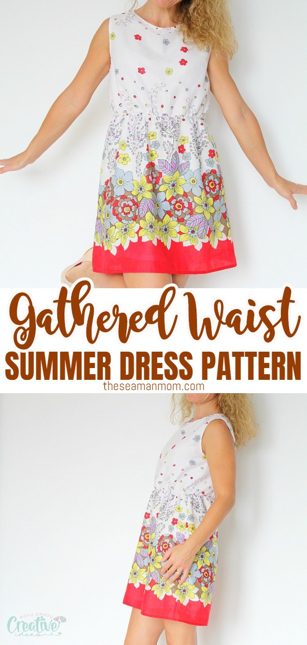 Simple summer dress pattern