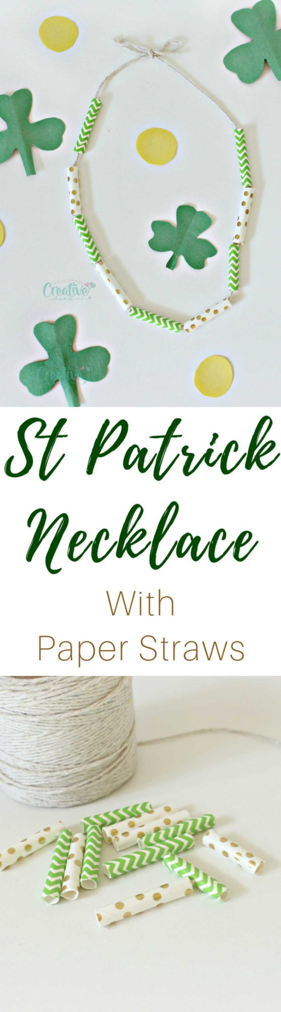 St Patrick necklace
