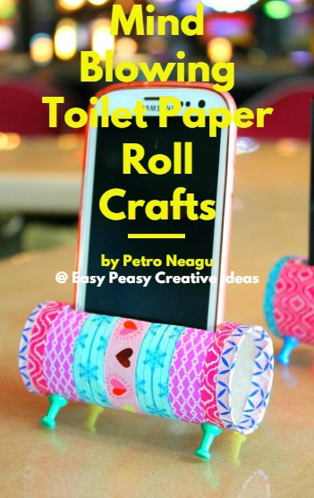 Toilet paper roll crafts eBook
