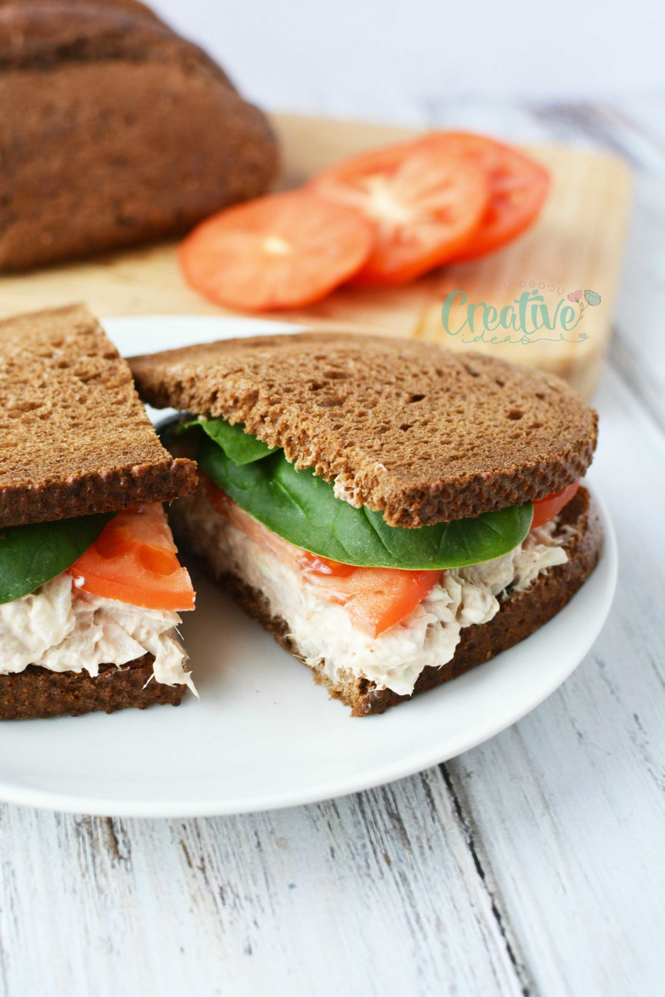 the best tuna spread recipe with simple but delicious ingredients like cream cheese, onion, mayonnaise and hot sauce!