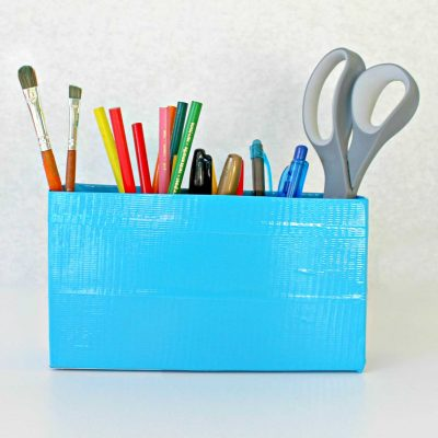 DIY Duct Tape Organizer
