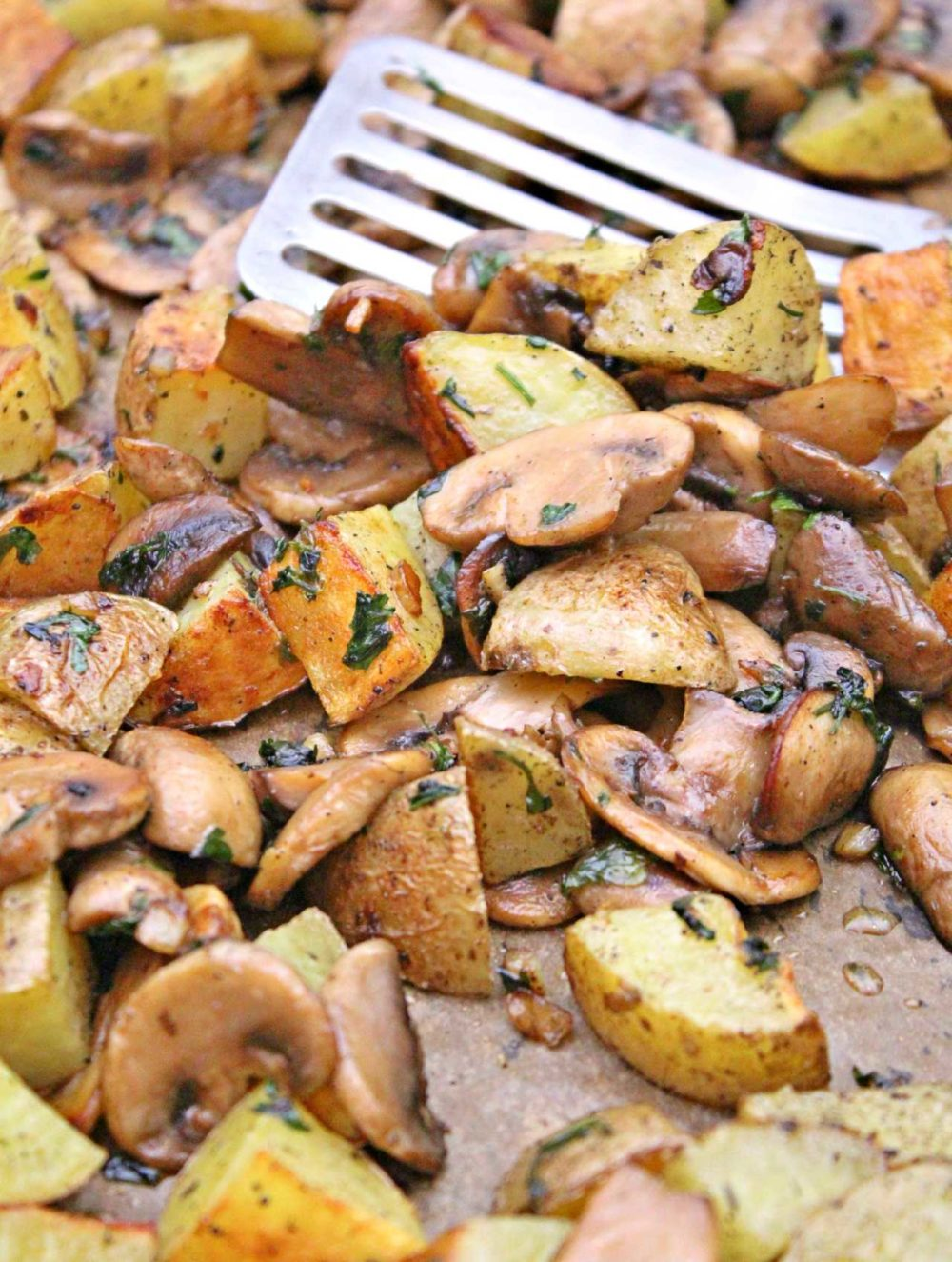 mushroom and potato recipe