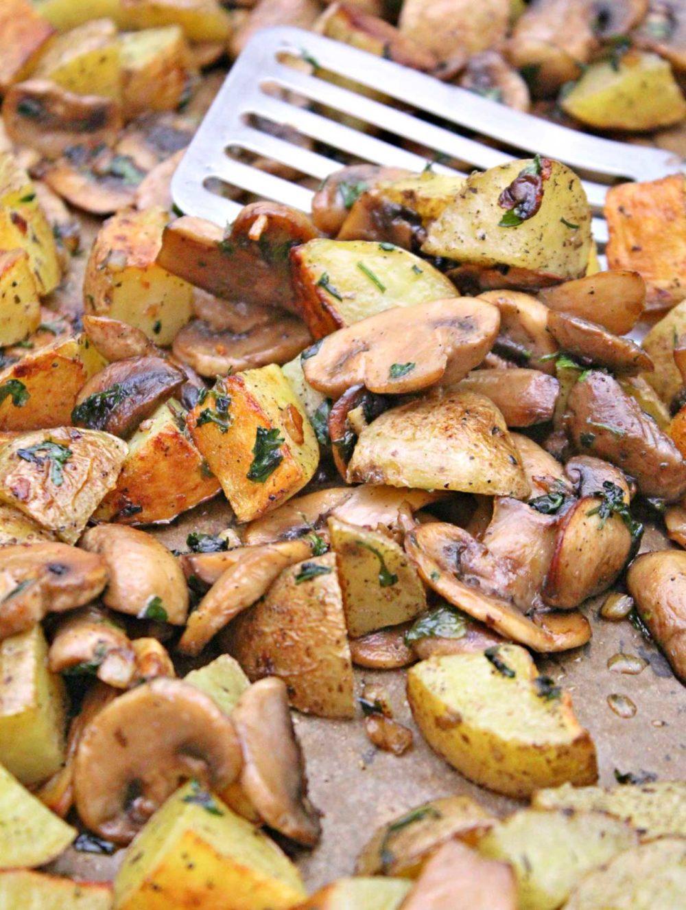 mushroom and potato recipe