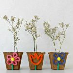 DIY Mini Flower Pots From Peat Planters