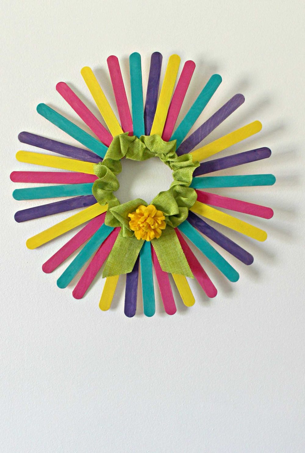 stick wreath