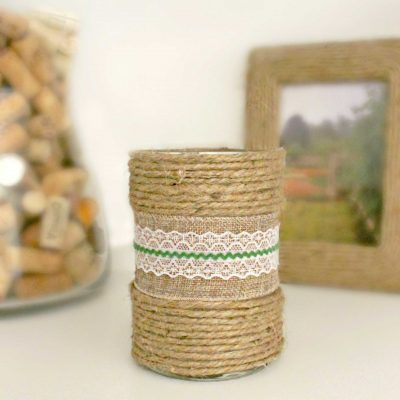 Easy Peasy Way To Make Your Own Decorated Candles