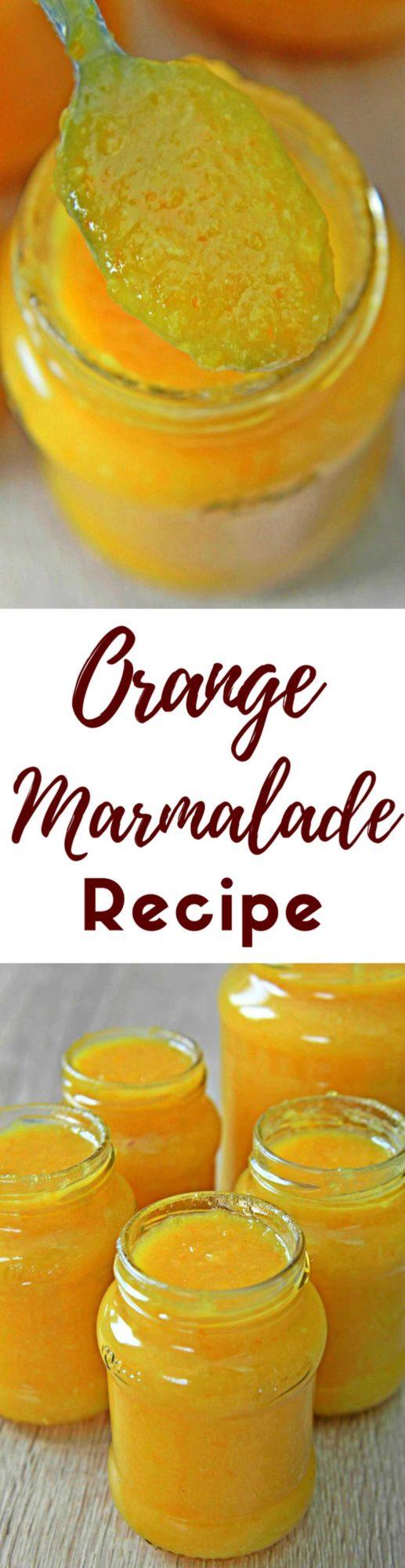 Orange lemon marmalade