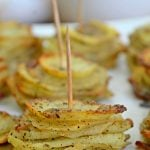 Baked Parmesan Potato Stacks