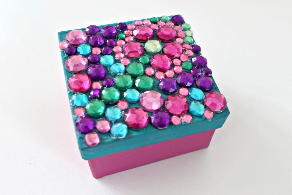 DIY trinket box